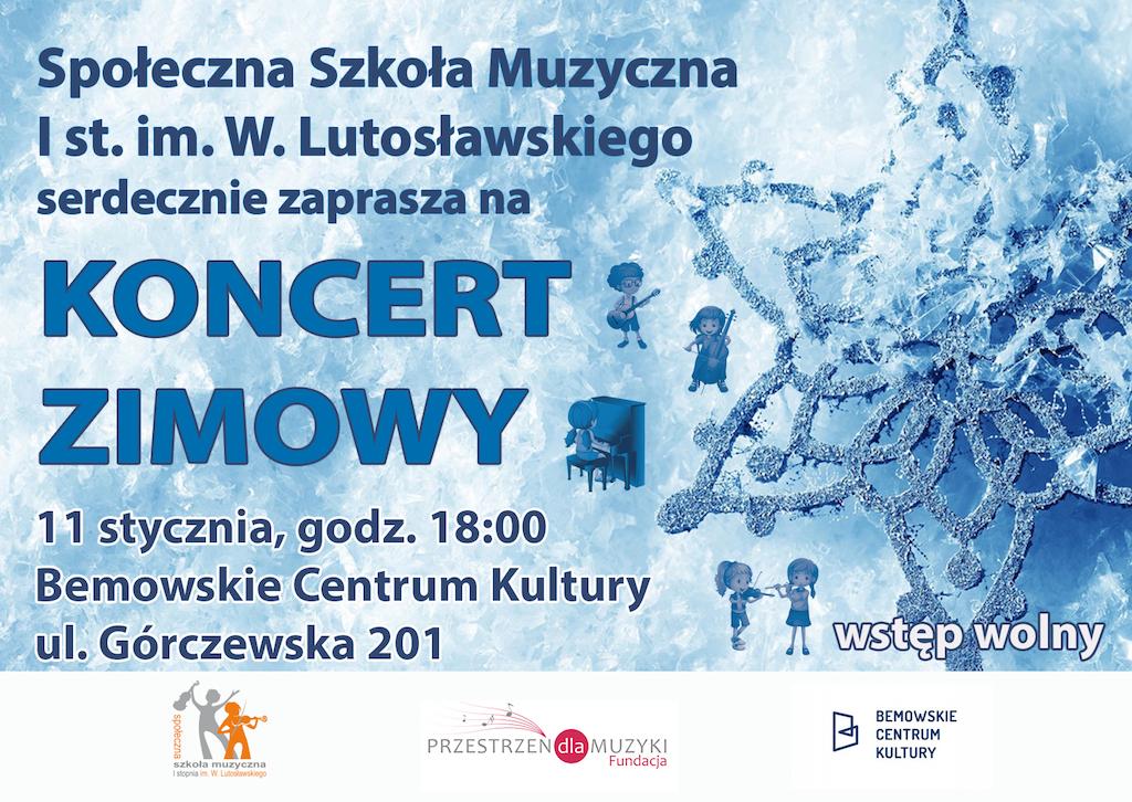 Zaproszenie Koncert Zimowy2www