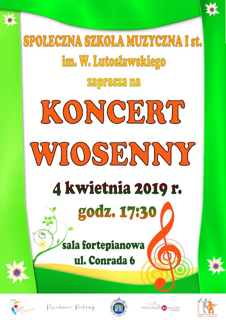 Koncert Wiosenny19www